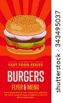 Burger Poster Fast Food Menu...