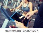 sport  fitness  lifestyle ... | Shutterstock . vector #343641227
