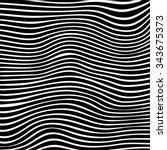 Beautiful Wavy Lines In Black...