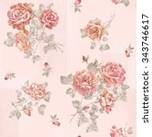 Flowers Seamless Pattern   For...