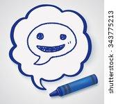 doodle speech | Shutterstock . vector #343775213