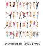 isolated  winning idea  | Shutterstock . vector #343817993