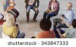 people meeting communication... | Shutterstock . vector #343847333