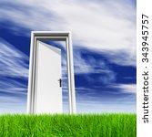 high resolution green  fresh... | Shutterstock . vector #343945757