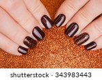 Beautiful Brown Nails And...