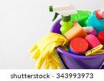cleaning kit | Shutterstock . vector #343993973