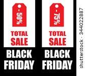 black friday sale   Shutterstock .eps vector #344022887