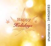 Happy Holidays Greeting Season...