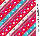 diagonal geometric. seamless... | Shutterstock .eps vector #344180123