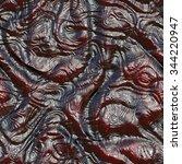 alien skin seamless texture | Shutterstock . vector #344220947
