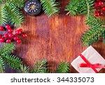 christmas background | Shutterstock . vector #344335073