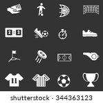 soccer symbol for web icons | Shutterstock .eps vector #344363123