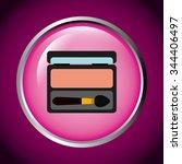 makeover female design  vector... | Shutterstock .eps vector #344406497