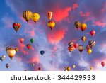 Colorful Hot Air Balloons In...
