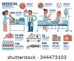 medical infographics | Shutterstock .eps vector #344473103