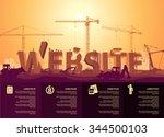 website construction   Shutterstock .eps vector #344500103