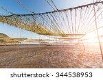 nori cultured in the sea in...   Shutterstock . vector #344538953
