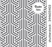 vector pattern. repeating... | Shutterstock .eps vector #344605403