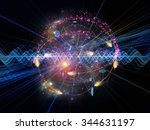 atomic wave  series.... | Shutterstock . vector #344631197