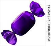 sweet chocolate candy with the... | Shutterstock .eps vector #344692463
