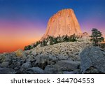 Devil's tower national monument ...