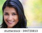 Closeup Headshot Portrait Of...