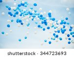 Balloons In White And Two...