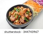 thai cuisine   herb bergamot... | Shutterstock . vector #344743967