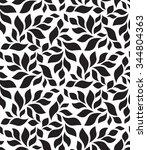 vector geometric seamless... | Shutterstock .eps vector #344804363