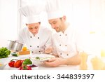 view of a young attractives...   Shutterstock . vector #344839397