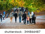 london  uk   october 31  2015 ... | Shutterstock . vector #344866487