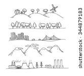 vector illustration of ... | Shutterstock .eps vector #344879183