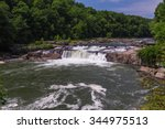Ohiopyle Falls In The Summer