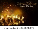 christmas holidays background | Shutterstock . vector #345020477