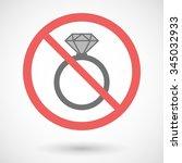 illustration of a forbidden...   Shutterstock .eps vector #345032933