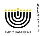Hanukkah Sign  Vector...
