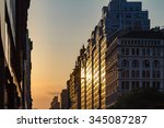 Manhattanhenge Solstice Sunset...