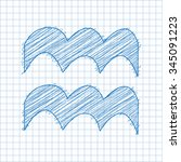 aquarius  21 january   19...   Shutterstock .eps vector #345091223