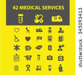 medicine research  medical... | Shutterstock .eps vector #345093413