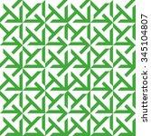 seamless green and white op art ... | Shutterstock .eps vector #345104807