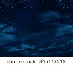 Night Sky  Starry Background