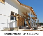construction or repair of the...   Shutterstock . vector #345218393