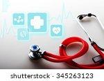 healthcare and medicine.   Shutterstock . vector #345263123