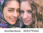 Portrait With Two Girls From...