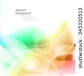 abstract colorful background.... | Shutterstock .eps vector #345320513