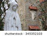 Virgin Mary In New York Garden