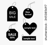sticker price tag vector   Shutterstock .eps vector #345385697
