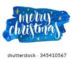 Merry Christmas Written On...