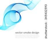 abstract vector colorful... | Shutterstock .eps vector #345432593