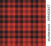 tartan  plaid  seamless pattern.... | Shutterstock .eps vector #345432617